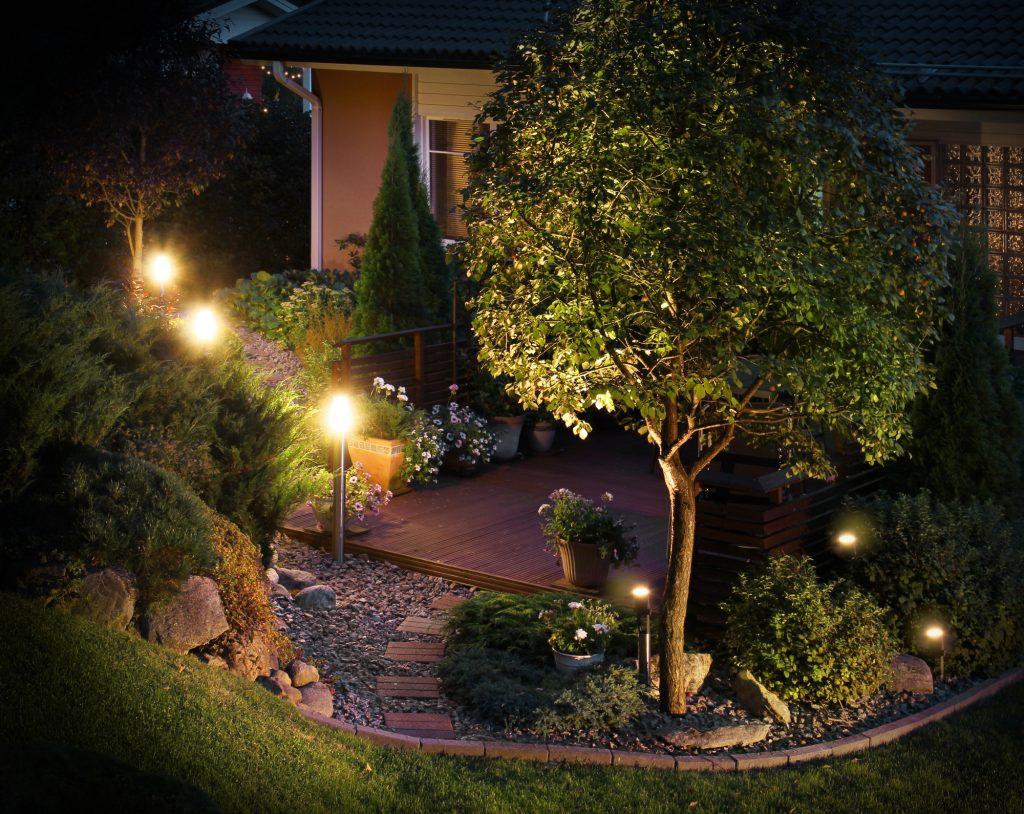 outdoor lighting - security lights